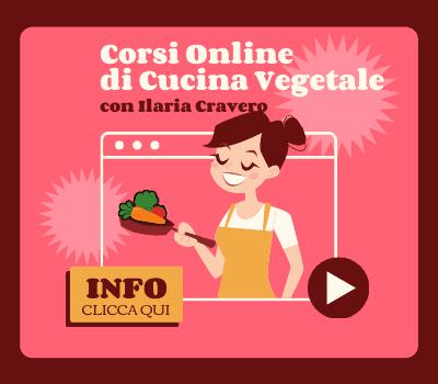 Corsi cucina vegetale online